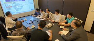 傅新民博士到訪弘遠數位娛樂進行綠能科技交流